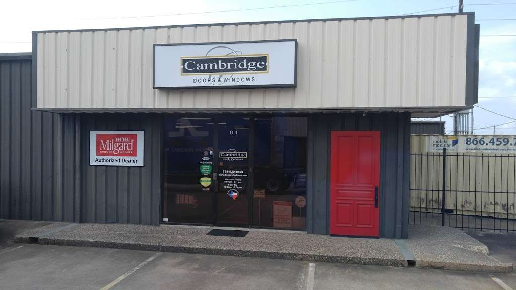 Cambridge Doors & Windows - store  | Photo 3 of 10 | Address: 12999 Murphy Rd D-1, Stafford, TX 77477, USA | Phone: (281) 530-8100