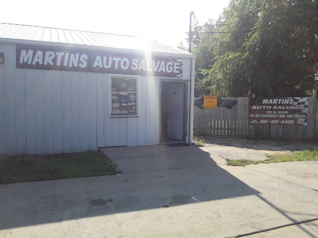 Martins Auto Salvage >> Martins Auto Salvage Car Repair 305 N Kiger Rd