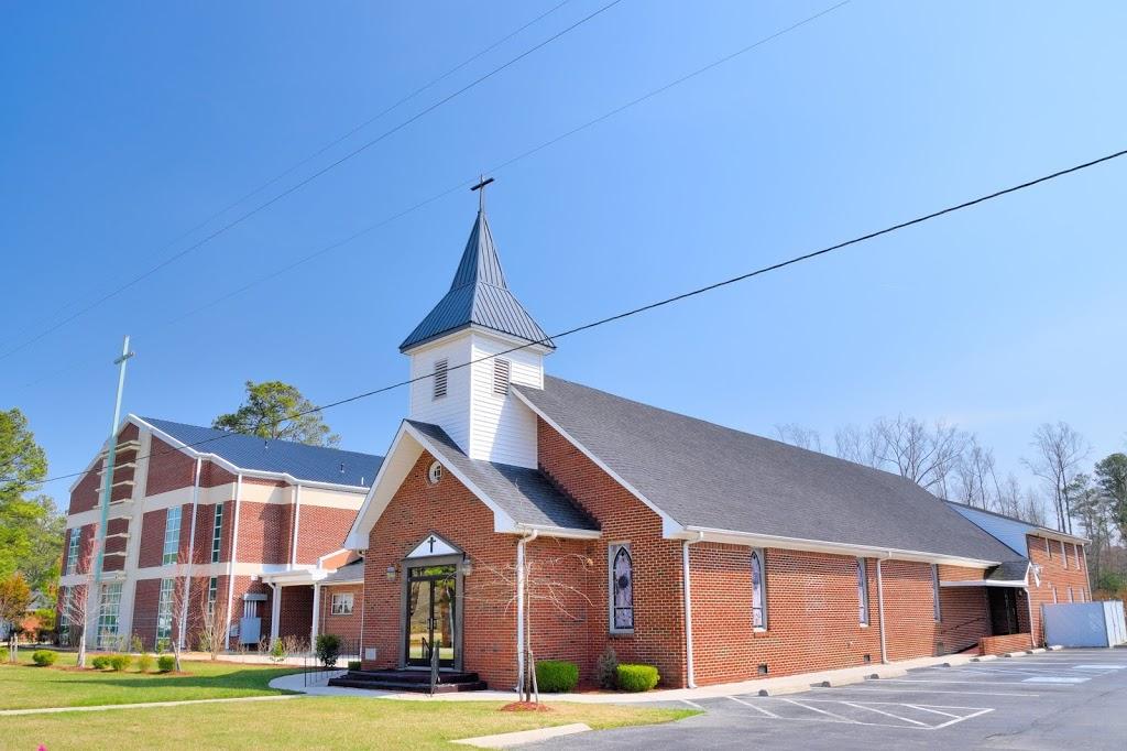 Oak Grove Baptist Church - church  | Photo 1 of 10 | Address: 2635 E Washington St, Suffolk, VA 23434, USA | Phone: (757) 539-8012