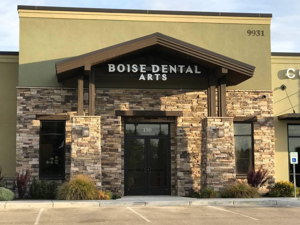 Boise Dental Arts - dentist    Photo 2 of 4   Address: 9931 W Cable Car St #150, Boise, ID 83709, USA   Phone: (208) 369-2255