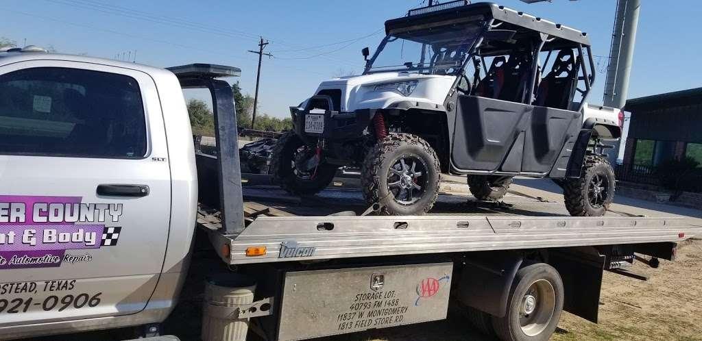 Waller County Paint & Body Shop & Complete Automotive - car repair  | Photo 2 of 10 | Address: 40793 Farm to Market Rd 1488, Hempstead, TX 77445, USA | Phone: (979) 921-0906