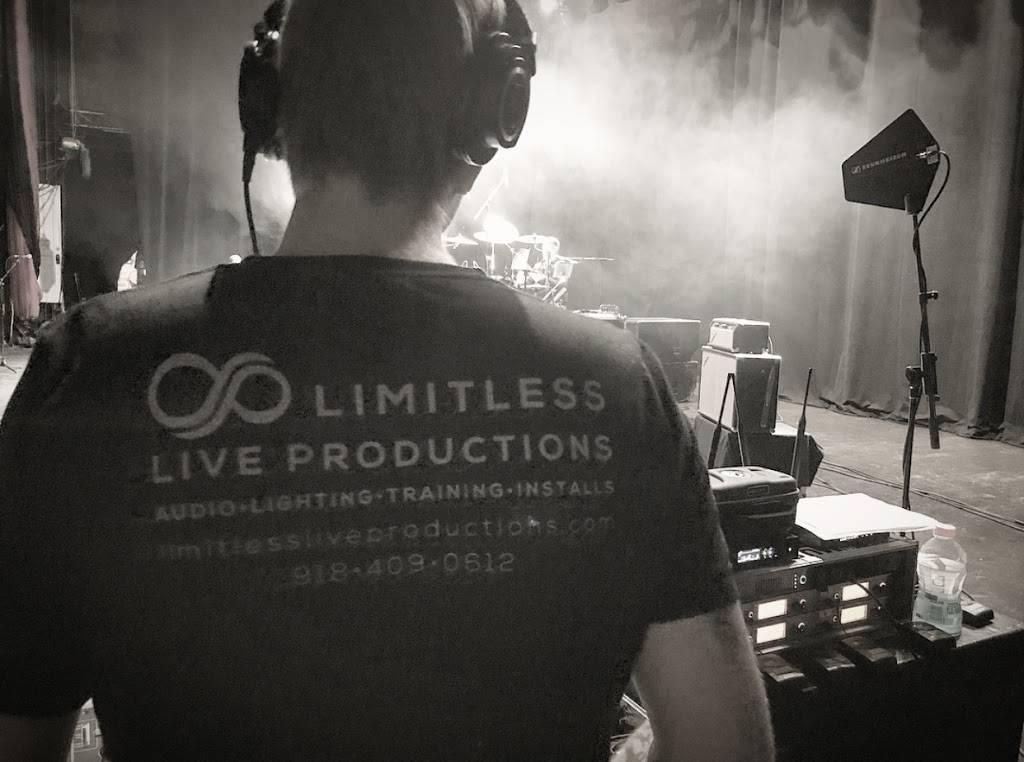 Limitless Live Productions - electronics store  | Photo 1 of 9 | Address: 7030 S Indianapolis Ave, Tulsa, OK 74136, USA | Phone: (918) 409-0612