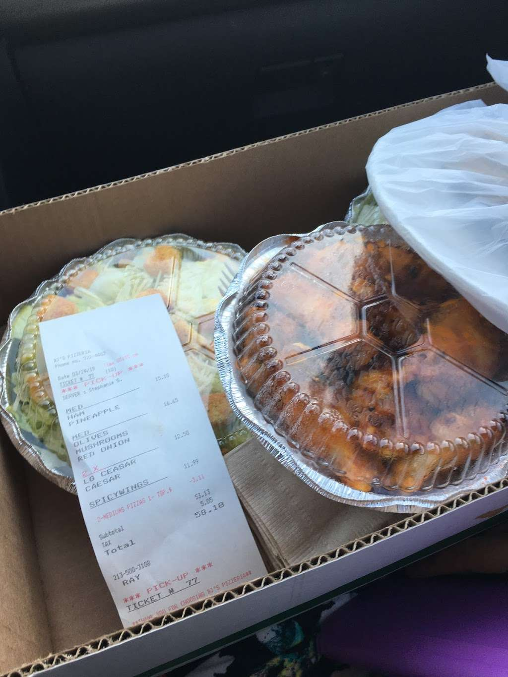 BJs Pizzeria - meal delivery    Photo 8 of 10   Address: 1424 W Beverly Blvd #4147, Montebello, CA 90640, USA   Phone: (323) 722-4002