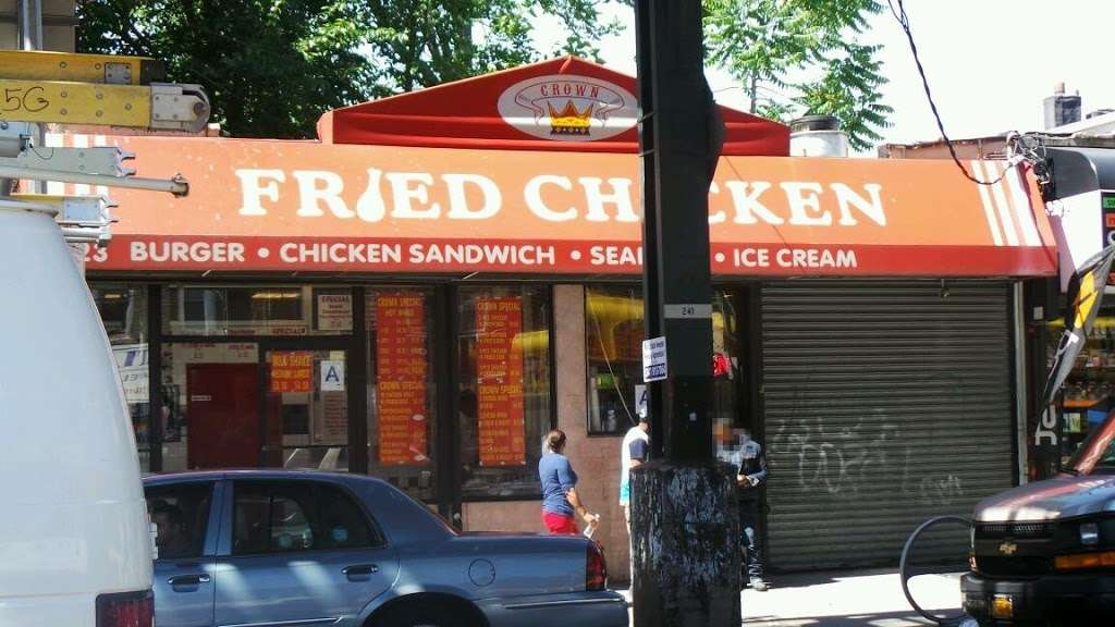 Crown Fried Chicken - restaurant  | Photo 1 of 2 | Address: 923 Livonia Ave, Brooklyn, NY 11207, USA | Phone: (718) 345-7286