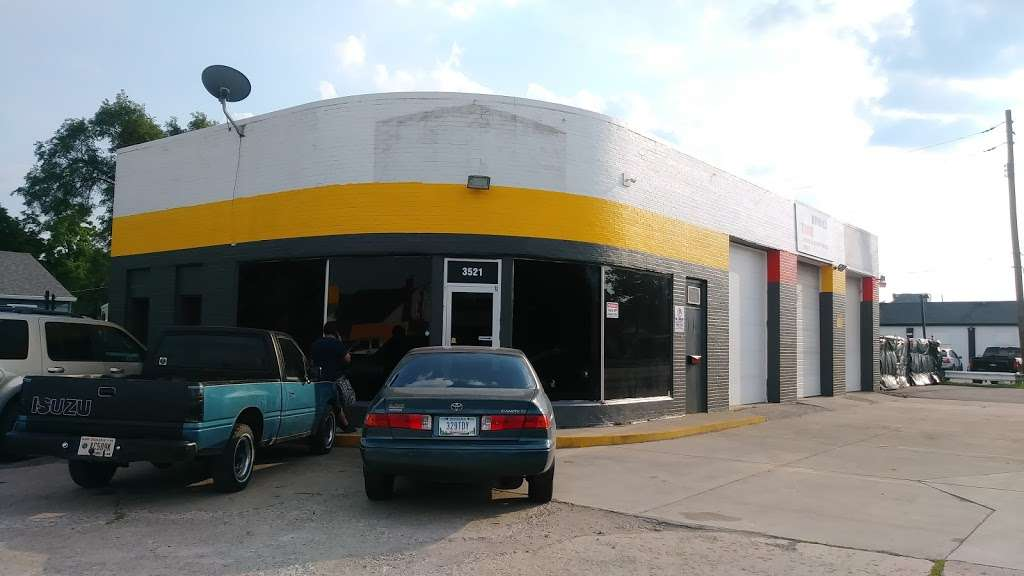 IMC Tire and Mufflers Service Inc - car repair  | Photo 3 of 10 | Address: 3521 W 16th St, Indianapolis, IN 46222, USA | Phone: (317) 426-2011