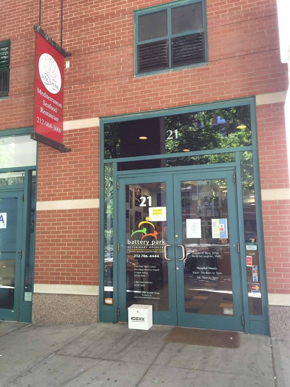 Battery Park Veterinary Hospital - dentist  | Photo 2 of 10 | Address: 21 South End Ave, New York, NY 10280, USA | Phone: (646) 561-9225