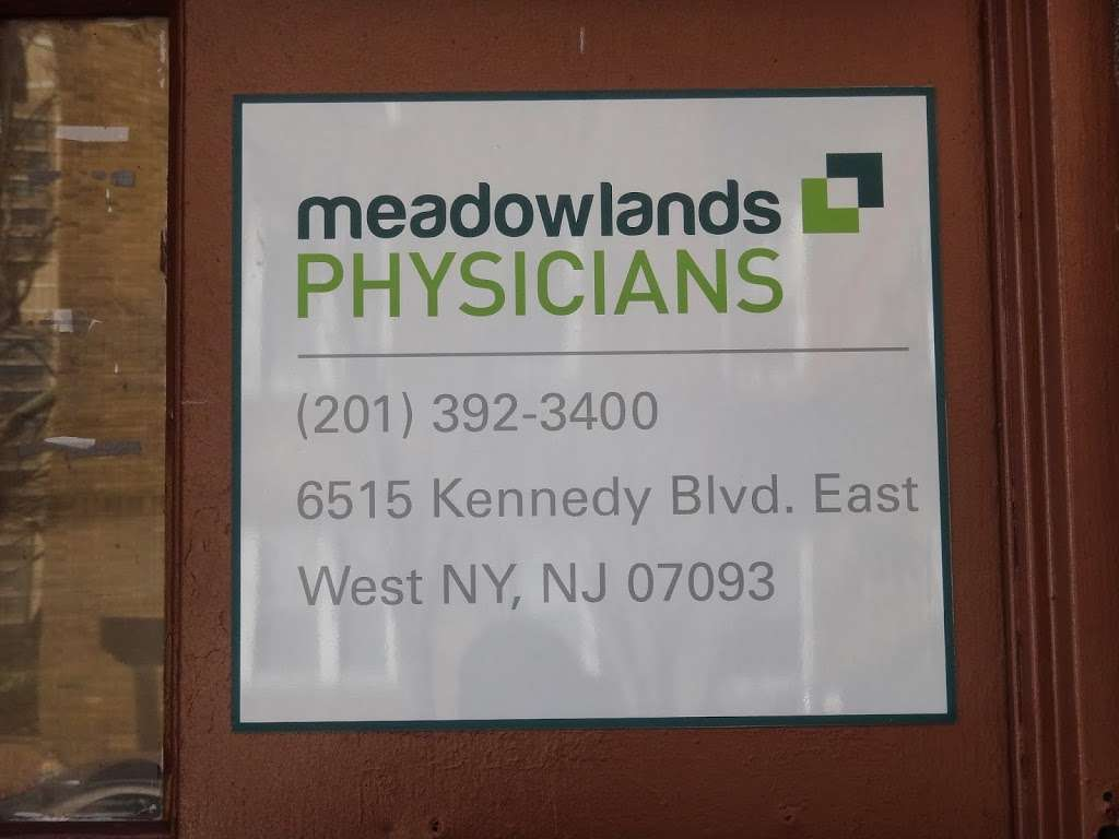 Meadowlands Physicians Outpatient Health Center | health | 6515 John Fitzgerald Kennedy Blvd, West New York, NJ 07093, USA