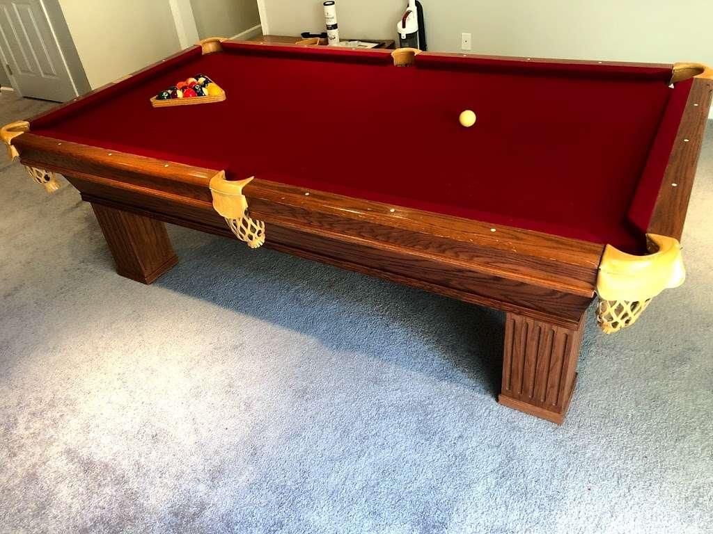 Cloud 9 Pool Table Service - store  | Photo 2 of 10 | Address: 236 John Mowry Rd, Smithfield, RI 02917, USA | Phone: (401) 603-8092