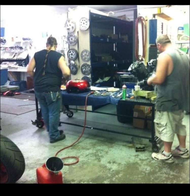 Pro Street Cycles RVA - car repair    Photo 2 of 8   Address: 8810 Jefferson Davis Hwy, Richmond, VA 23237, USA   Phone: (804) 271-7766