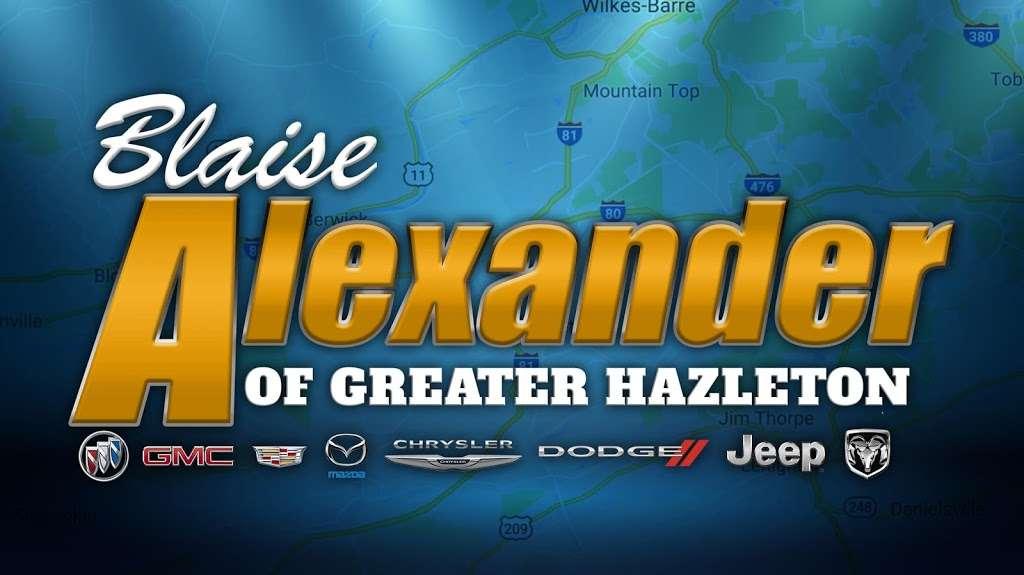 BLAISE ALEXANDER BUICK GMC CADILLAC OF GREATER HAZLETON - car dealer  | Photo 2 of 3 | Address: 508 Susquehanna Blvd, Hazle Township, PA 18202, USA | Phone: (570) 454-0856