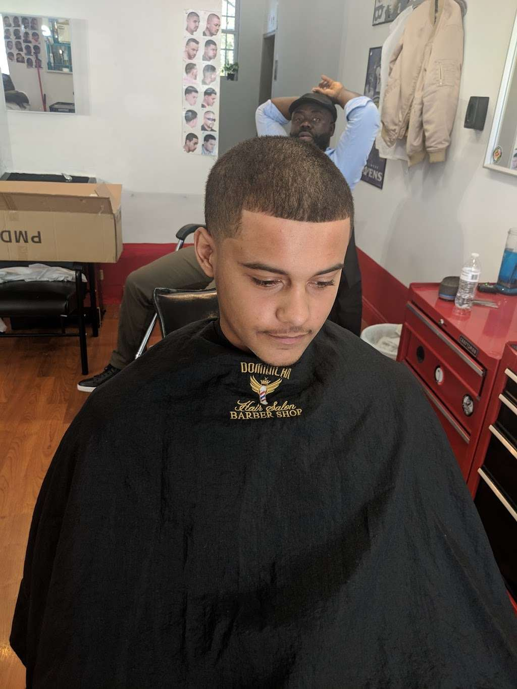 """Dominican Barbershop """"BROTHERHOOD"""" 1 - hair care    Photo 10 of 10   Address: 6416 Frederick Rd, Catonsville, MD 21228, United States   Phone: (443) 636-5063"""