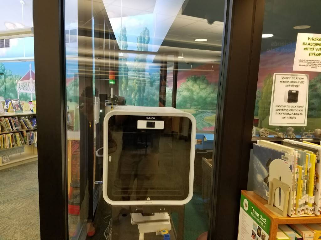 Schimelpfenig Library - library    Photo 9 of 9   Address: 5024 Custer Rd, Plano, TX 75023, USA   Phone: (972) 769-4200
