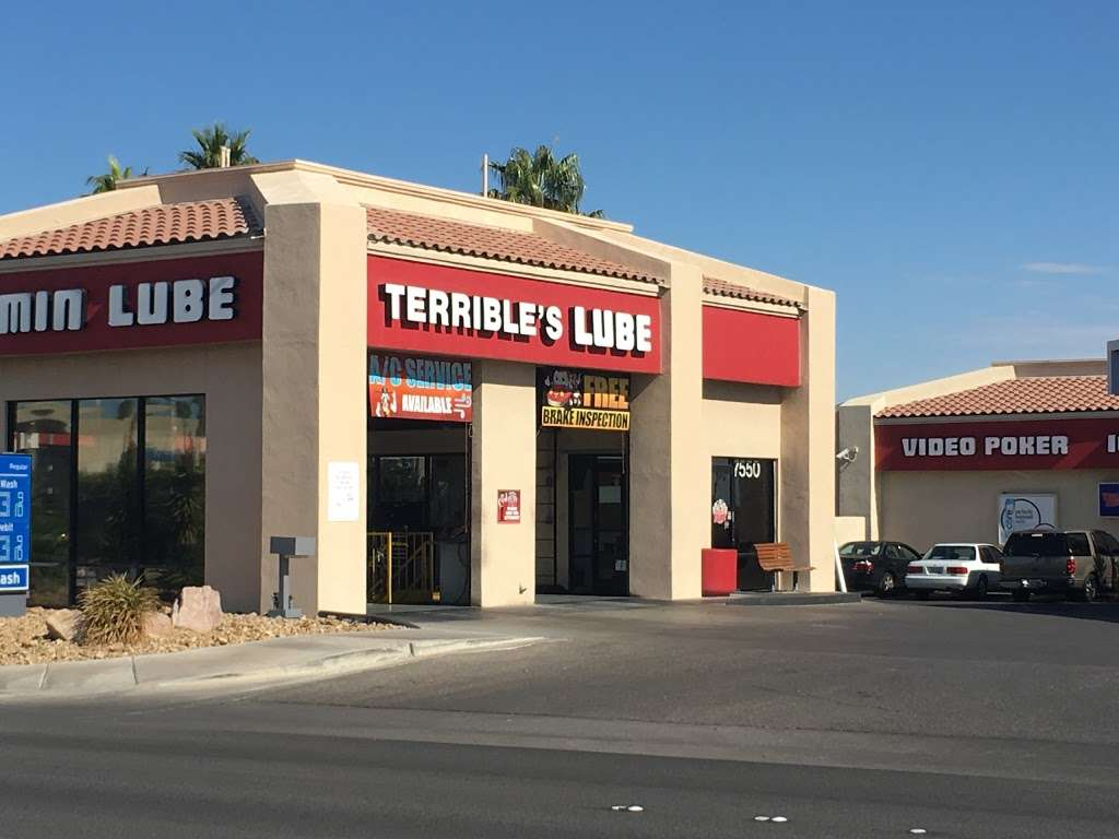 Terrible Herbst Lube & Smog - car repair  | Photo 1 of 2 | Address: 7550 W Cheyenne Ave, Las Vegas, NV 89129, USA | Phone: (702) 395-0273