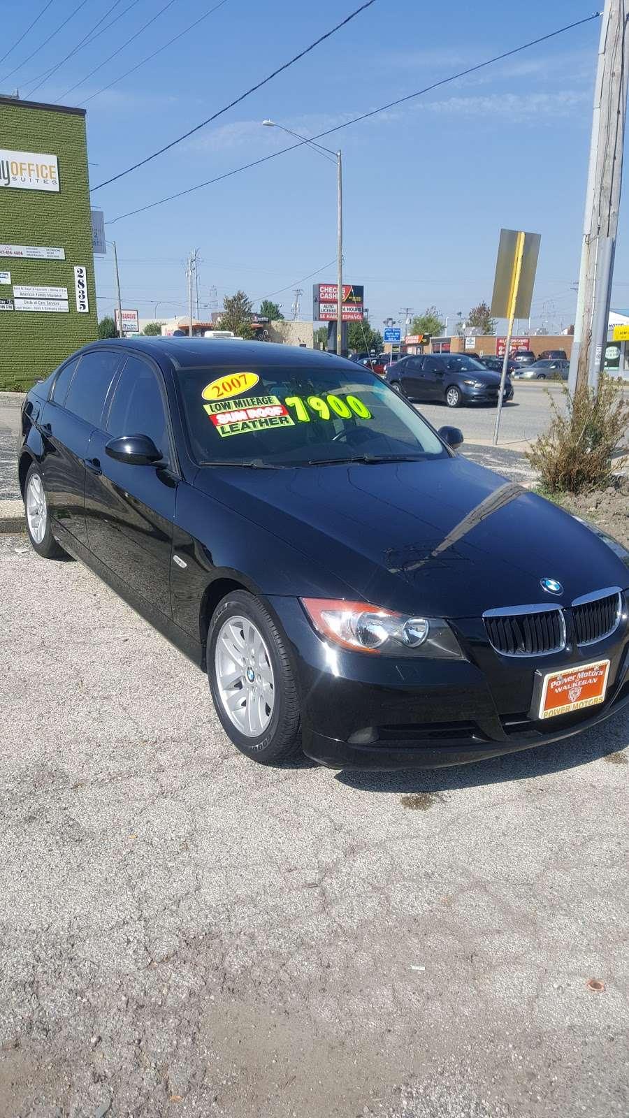 Power Motors Group Inc - car dealer  | Photo 5 of 10 | Address: 2829 Belvidere Rd, Waukegan, IL 60085, USA | Phone: (847) 625-6900