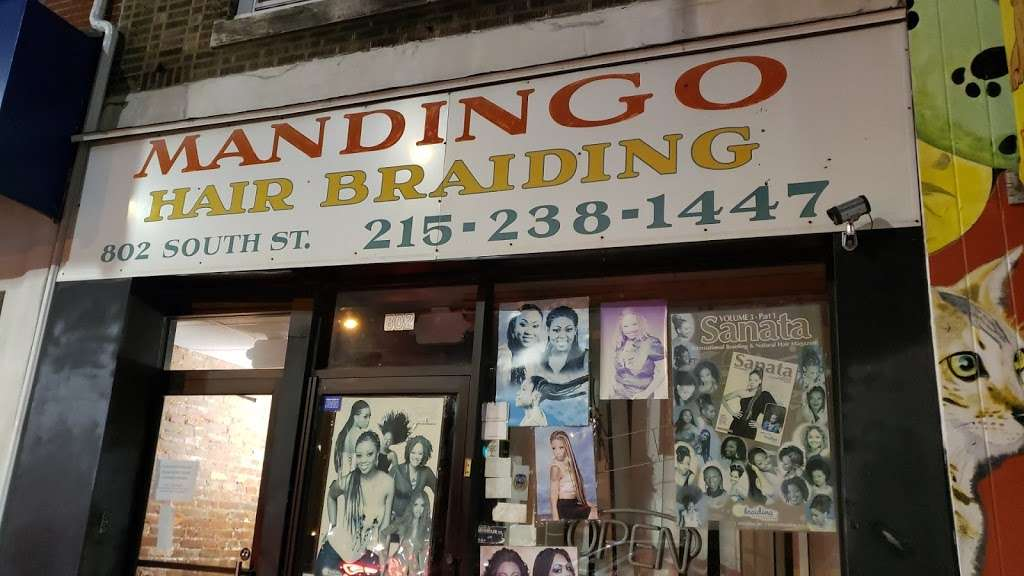Mandingo African Hair Braiding - hair care  | Photo 2 of 3 | Address: 802 South St, Philadelphia, PA 19147, USA | Phone: (215) 238-1447