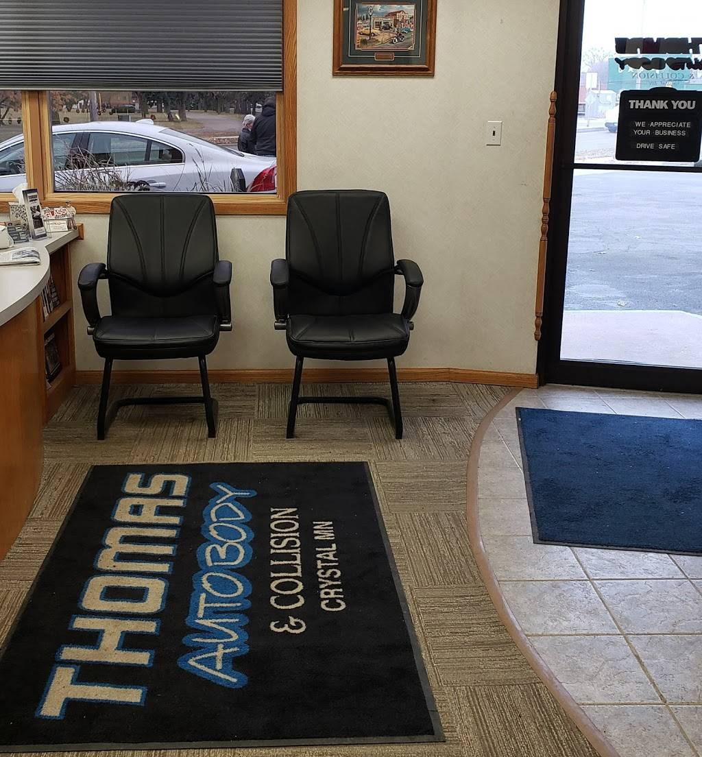 Thomas Auto Body & Collision - car repair    Photo 9 of 9   Address: 5170 W Broadway Ave, Minneapolis, MN 55429, USA   Phone: (763) 205-1187