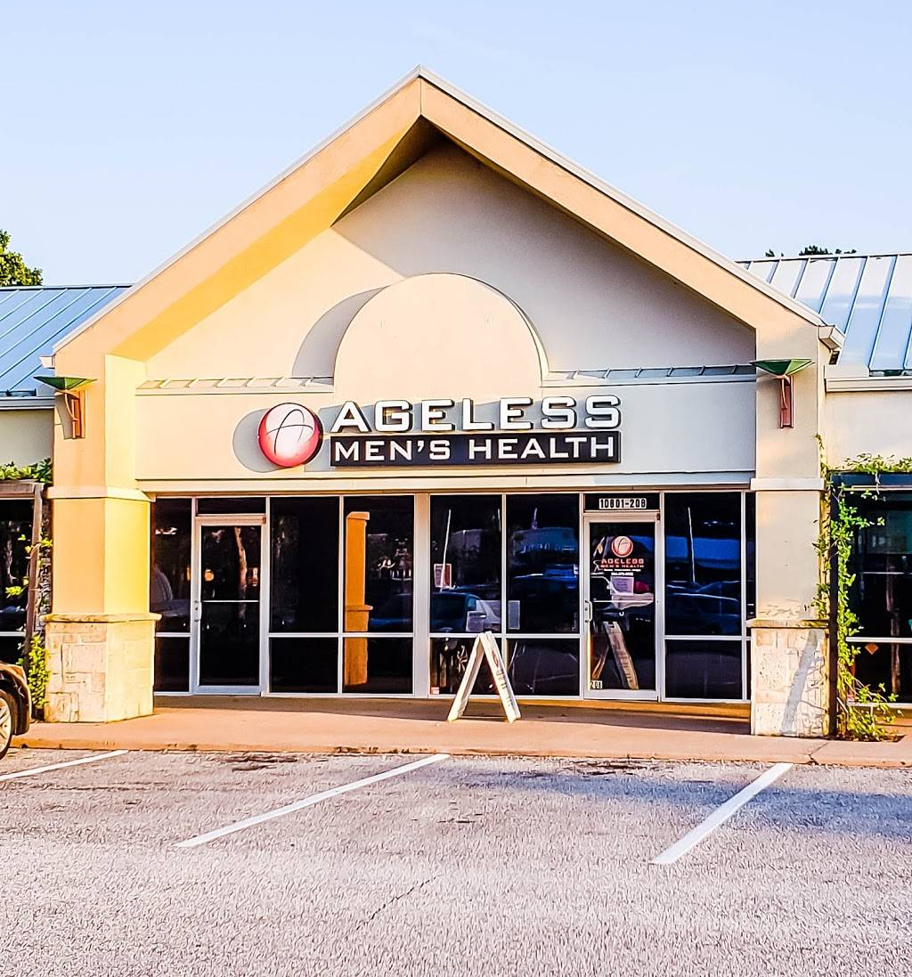 Ageless Mens Health - hospital    Photo 1 of 5   Address: 10601 San Jose Blvd #208, Jacksonville, FL 32257, USA   Phone: (904) 379-5052