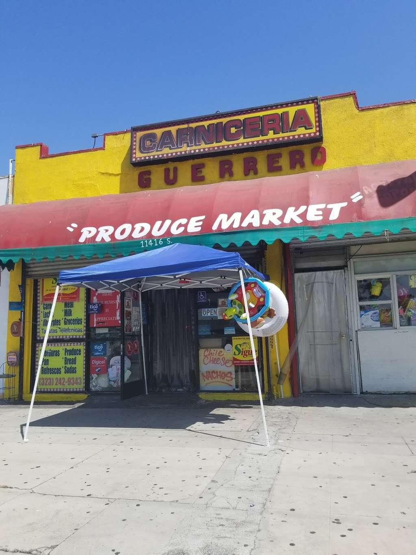 El Guerrero Carniceria - store  | Photo 3 of 5 | Address: 11416 Vermont Ave, Los Angeles, CA 90044, USA | Phone: (323) 242-9343