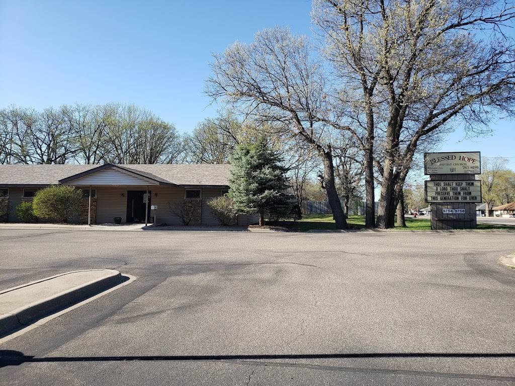 Blessed Hope Baptist Church - church  | Photo 1 of 1 | Address: 9754 University Ave NW, Minneapolis, MN 55448, USA | Phone: (763) 783-8195