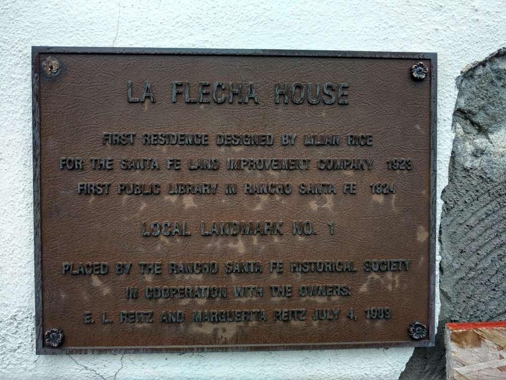 Rancho Santa Fe Historical Society - museum  | Photo 5 of 6 | Address: 6036 La Flecha, Rancho Santa Fe, CA 92067, USA | Phone: (858) 756-9291
