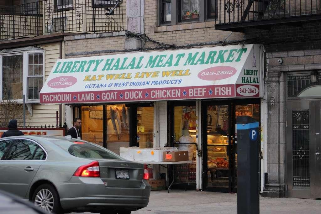 Liberty Halal Meat Market - store    Photo 1 of 2   Address: 12301 Liberty Ave, Jamaica, NY 11419, USA   Phone: (718) 843-2862