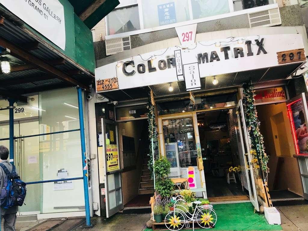 Color Matrix Cafesalon - hair care  | Photo 1 of 7 | Address: 297 Grand St, New York, NY 10002, USA | Phone: (212) 470-4555