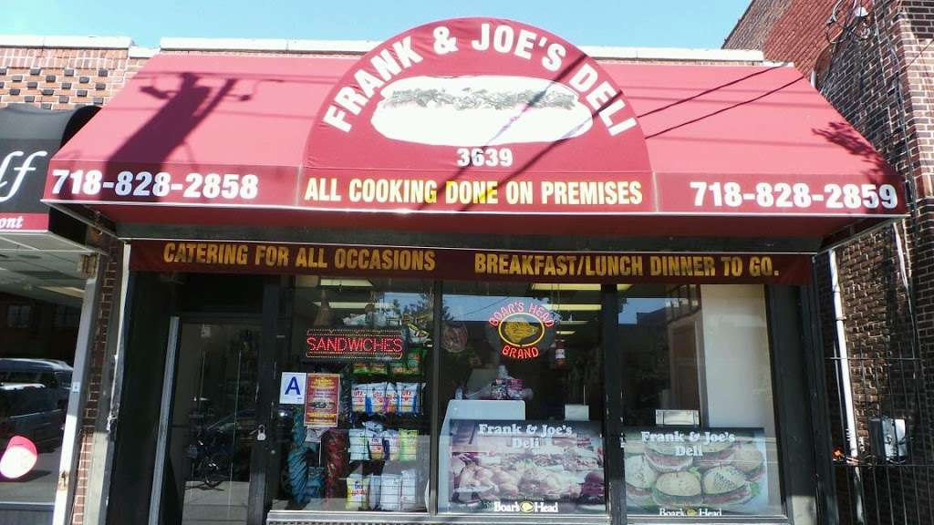 Frank Joes Deli-Throggs Neck - store  | Photo 2 of 3 | Address: 3639 E Tremont Ave, Bronx, NY 10465, USA | Phone: (718) 828-2858