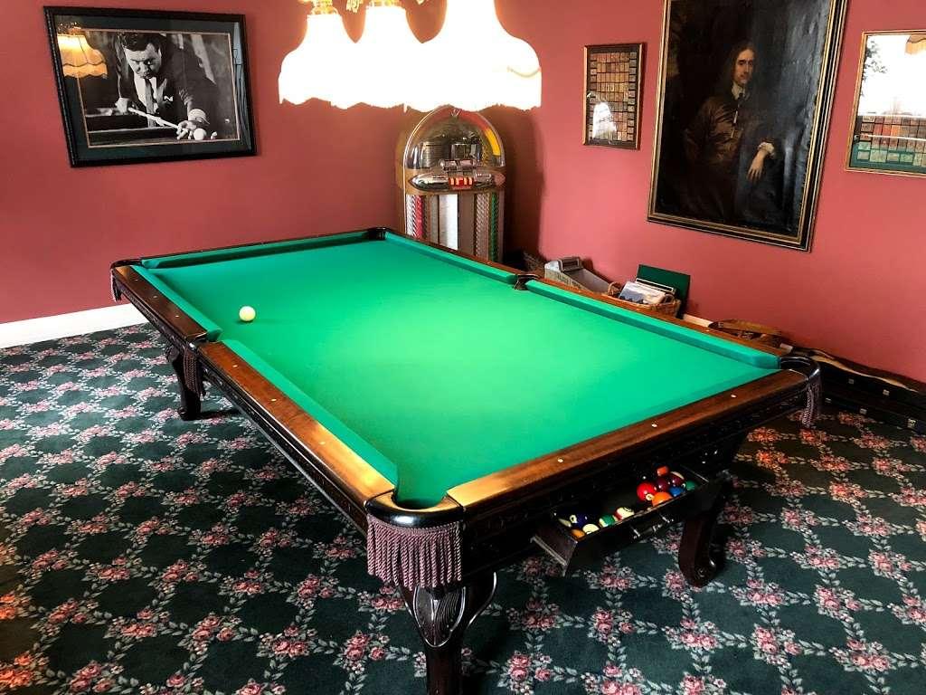 Cloud 9 Pool Table Service - store  | Photo 9 of 10 | Address: 236 John Mowry Rd, Smithfield, RI 02917, USA | Phone: (401) 603-8092