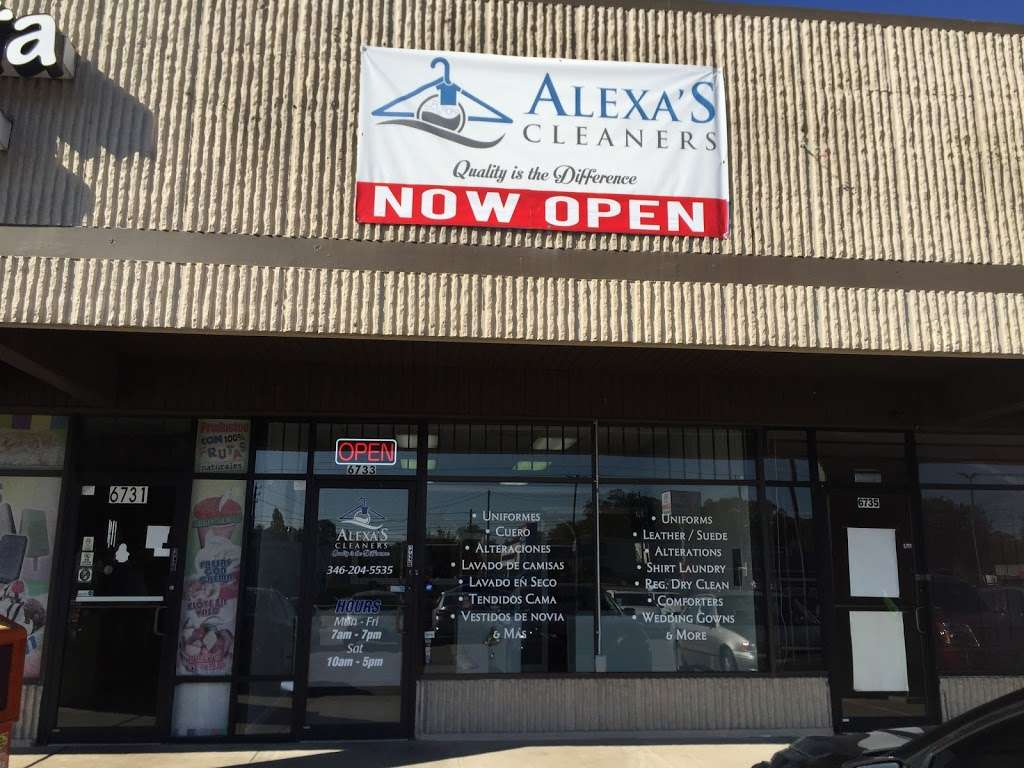 Alexas Cleaners - laundry  | Photo 7 of 10 | Address: 6733 Airline Dr, Houston, TX 77076, USA | Phone: (832) 708-8400