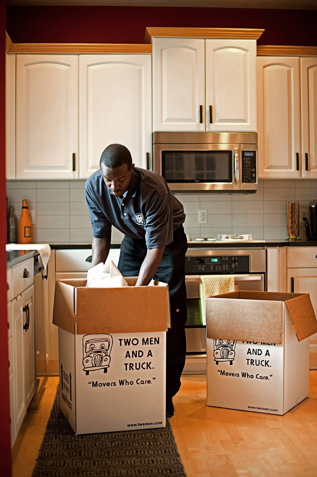 Two Men and a Truck - moving company  | Photo 10 of 10 | Address: 7711 Welborn St Ste 110, Raleigh, NC 27615, USA | Phone: (919) 355-4138