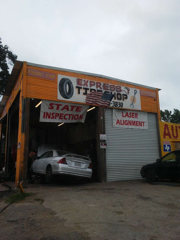Express Tire Shop - car repair    Photo 1 of 3   Address: 11375 Old Hwy 105 E, Conroe, TX 77301, USA   Phone: (936) 756-3830