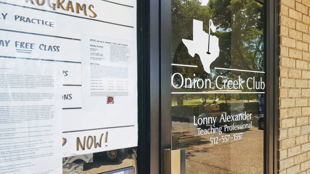 Onion Creek Club - restaurant  | Photo 6 of 10 | Address: 2510 Onion Creek Pkwy, Austin, TX 78747, USA | Phone: (512) 282-2150
