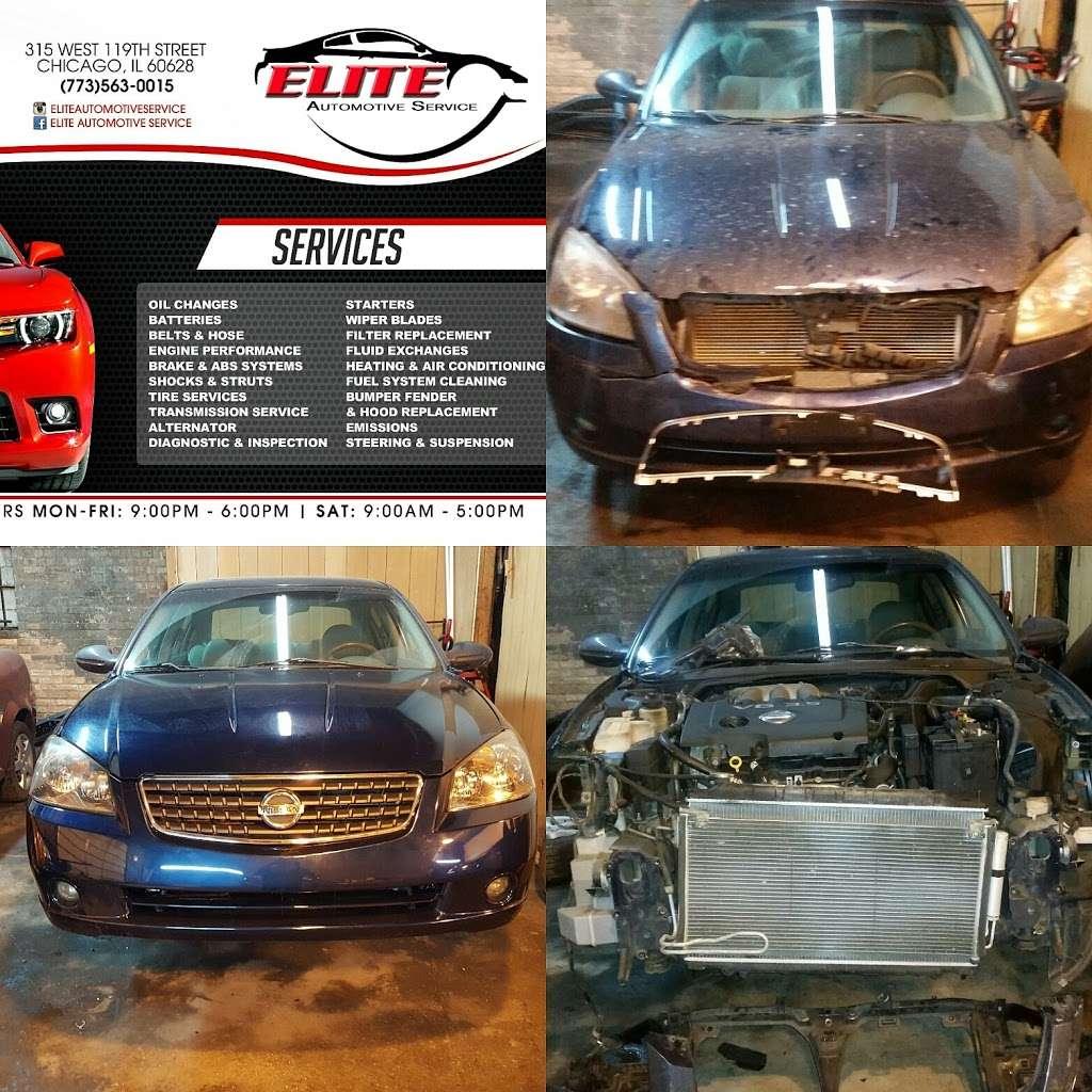Elite Automotive Service - car repair  | Photo 3 of 10 | Address: 315 W 119th St, Chicago, IL 60628, USA | Phone: (773) 563-0015