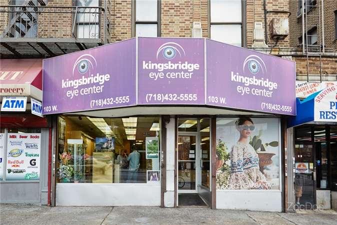 Kingsbridge Eye Center - doctor  | Photo 2 of 10 | Address: 103 W Kingsbridge Rd, Bronx, NY 10468, USA | Phone: (718) 432-5555