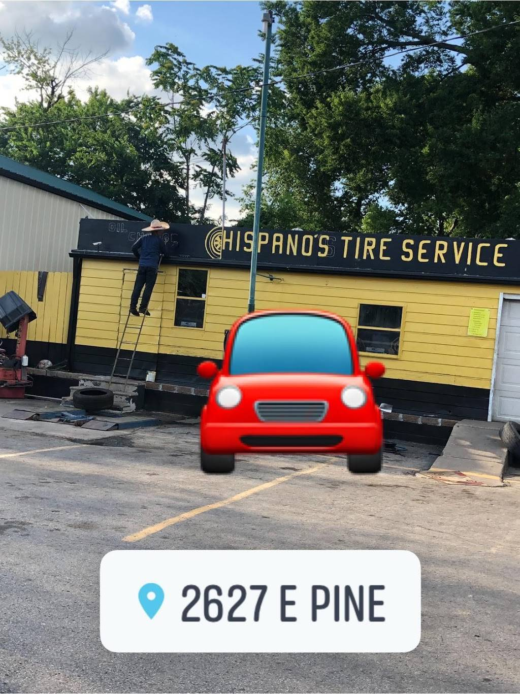 Hispano Tires - car repair  | Photo 1 of 1 | Address: 2627 E Pine St, Tulsa, OK 74110, USA | Phone: (918) 861-4190
