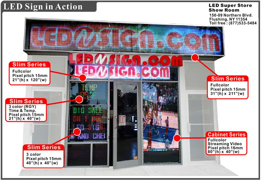 LEDnSIGN.com - store  | Photo 2 of 6 | Address: 13-10 111th St, College Point, NY 11356, USA | Phone: (718) 746-0822