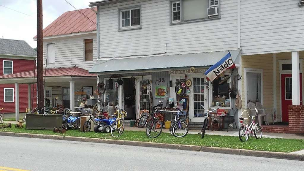 Yosts Antiques & Bicycles - home goods store  | Photo 1 of 1 | Address: 296 N Washington St, Berkeley Springs, WV 25411, USA | Phone: (304) 676-2535