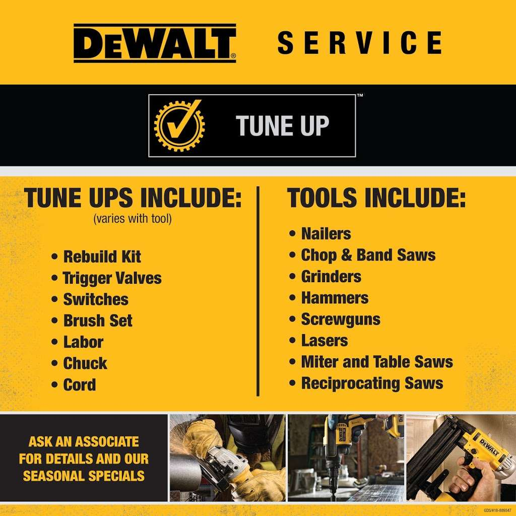 DEWALT Service Center - store  | Photo 9 of 9 | Address: 901 S Rohlwing Rd A, Addison, IL 60101, USA | Phone: (630) 521-1097