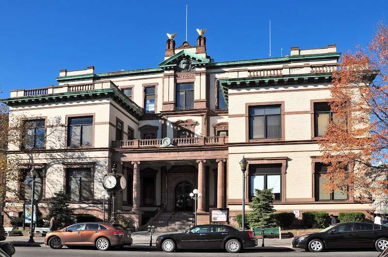 Hoboken City Clerks Office - city hall    Photo 1 of 2   Address: 94 Washington St, Hoboken, NJ 07030, USA   Phone: (201) 420-2230