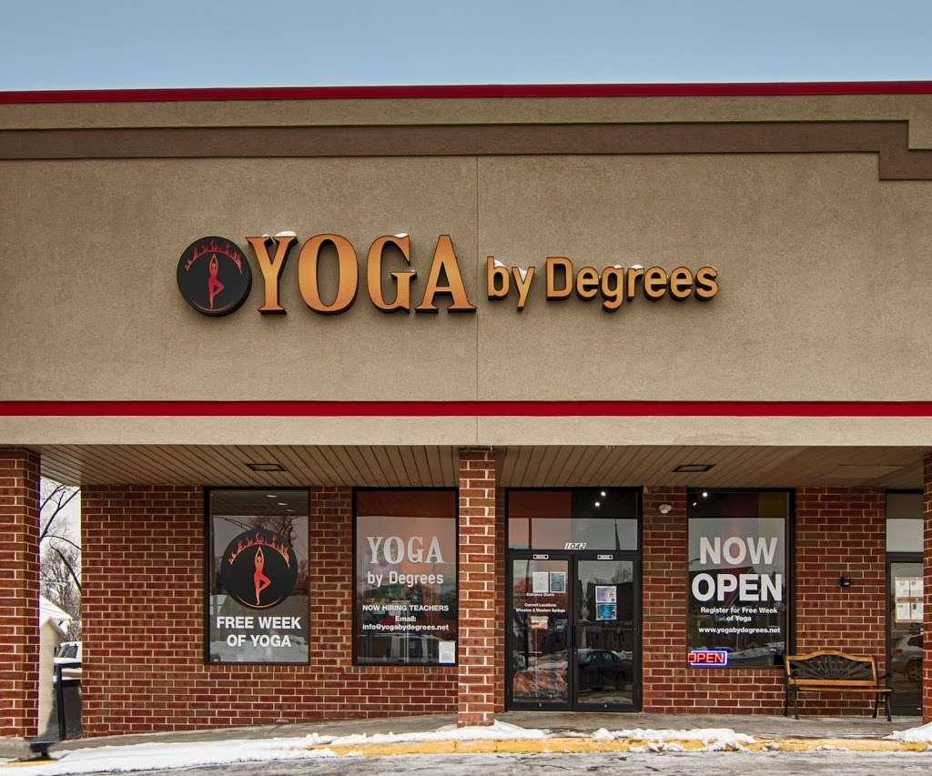 Yoga By Degrees - gym  | Photo 3 of 9 | Address: 1042 S York St, Elmhurst, IL 60126, USA | Phone: (630) 782-9642