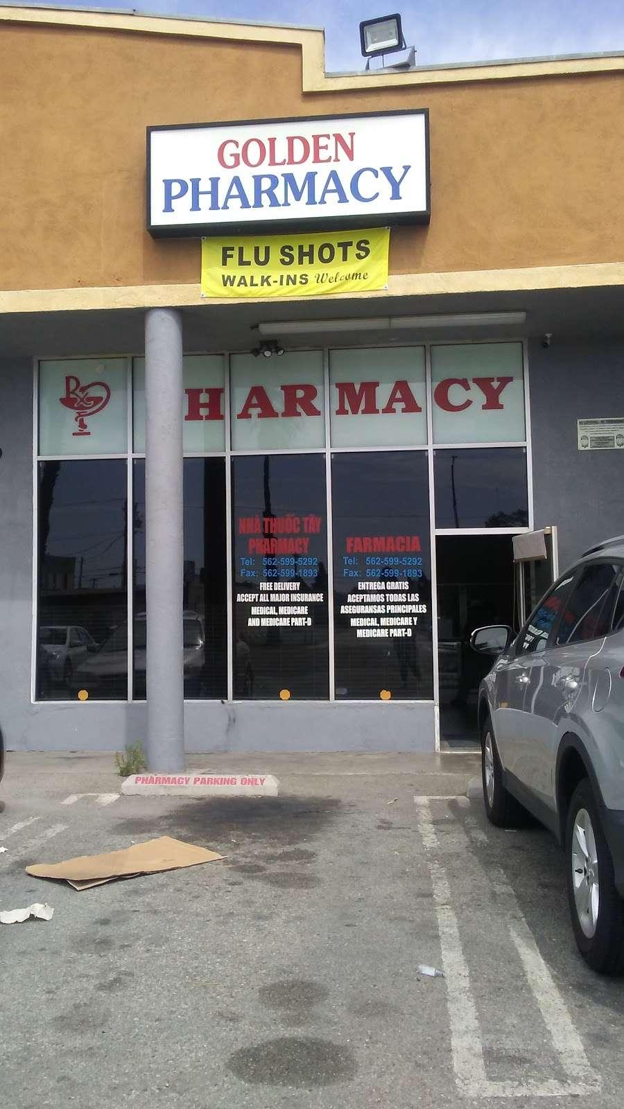 Golden Pharmacy - pharmacy    Photo 1 of 2   Address: 1750 Pacific Avenue, Long Beach, CA 90813, USA   Phone: (562) 599-5292
