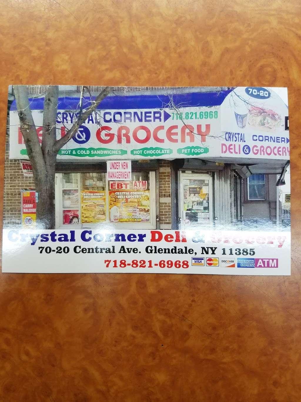 Crystal Corner Deli Grocery - store    Photo 4 of 10   Address: 70-20 Central Ave, Glendale, NY 11385, USA   Phone: (718) 821-6968