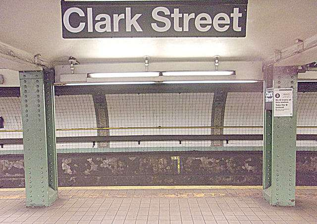 Clark Street Subway Station - subway station  | Photo 5 of 10 | Address: Brooklyn, NY 11201, USA