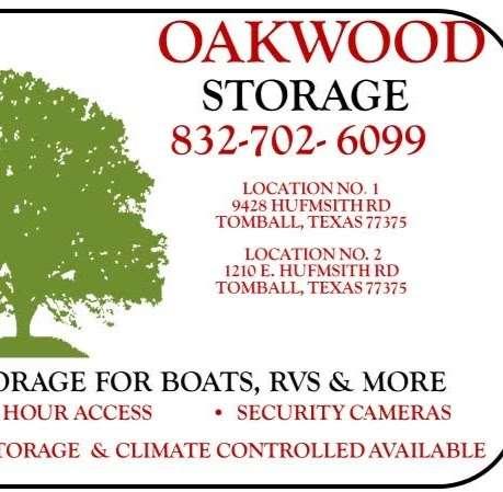 Oakwood Storage 2 / Boat and RV Storage - storage  | Photo 3 of 4 | Address: 1210 E Hufsmith Rd, Tomball, TX 77375, USA | Phone: (832) 702-6099