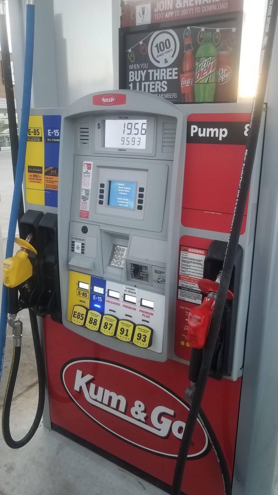 Kum & Go - convenience store  | Photo 2 of 8 | Address: 13704 E 106th St N, Owasso, OK 74055, USA | Phone: (918) 272-8661