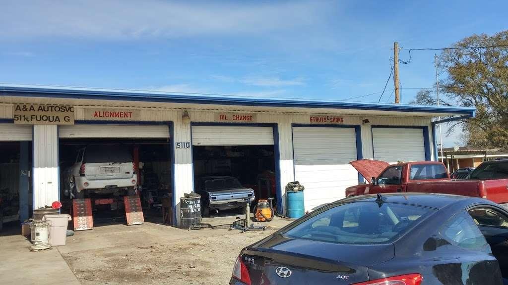 A & A Auto Service and Sales - car dealer    Photo 5 of 10   Address: 5110 Fuqua Gardens View Rd, Houston, TX 77045, USA   Phone: (713) 434-8464
