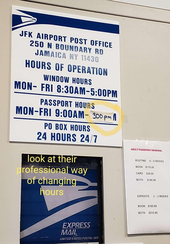 United States Postal Service - post office  | Photo 10 of 10 | Address: 250 N Boundary Rd Ste 1, Jamaica, NY 11430, USA | Phone: (800) 275-8777