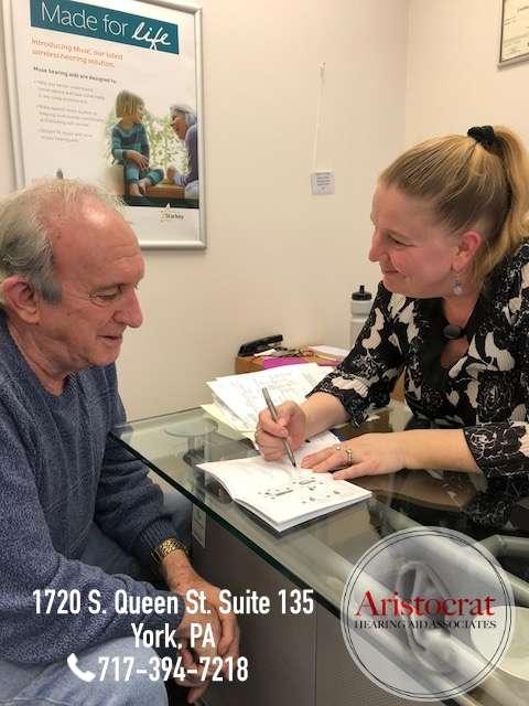 Aristocrat Hearing Aid Associates - health  | Photo 1 of 4 | Address: 1763 Columbia Ave, Lancaster, PA 17603, USA | Phone: (717) 394-7218