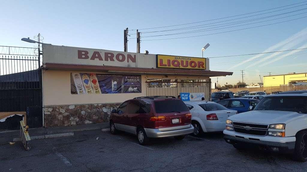 Baron Liquor - store  | Photo 1 of 4 | Address: 15631 S Avalon Blvd, Gardena, CA 90248, USA | Phone: (424) 340-2474