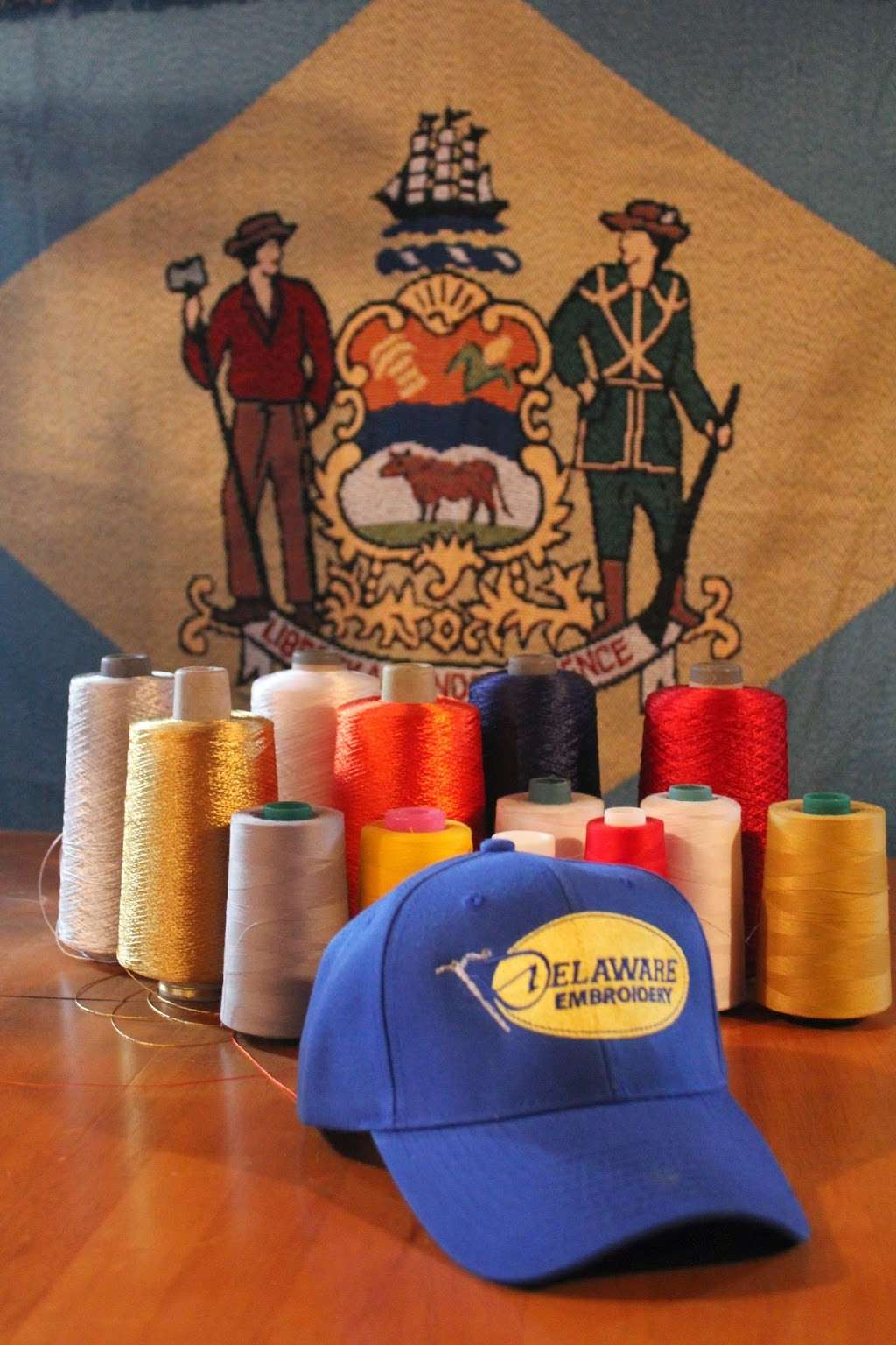 Delaware Embroidery - store  | Photo 1 of 1 | Address: 588 Railroad Ave, Townsend, DE 19734, USA | Phone: (302) 378-3292